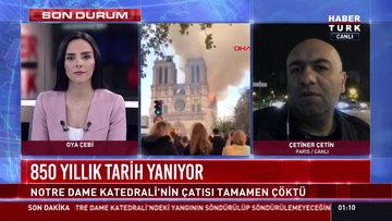 Çetiner Çetin Paris'ten aktardı