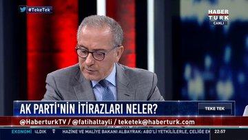 AK Partili Ali İhsan Yavuz Habertürk'te...