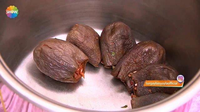 Kahramanmaraş yöresinden Kuru Patlıcan ve Biber Dolması