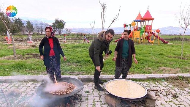 Kahramanmaraş yöresinden hamur işleri