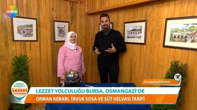 Bursa yöresinden Tavuk Sosa