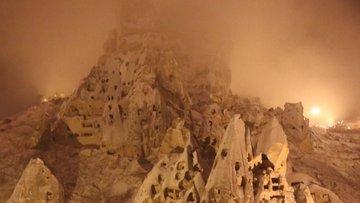 """Kapadokya'da """"kar baharı"""""""