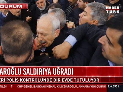 Son dakika! Kılıçdaroğlu saldırıya uğradı