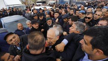 CHP lideri Kılıçdaroğlu'na Ankara'da cezanede saldırı