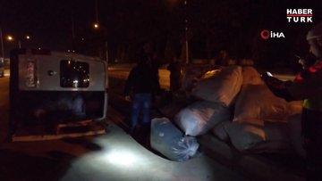 Gebze'de otomobil ile panelvan çarpıştı! 3 yaralı