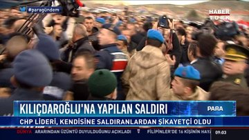 Kılıçdaroğlu'na yapılan saldırı: CHP lideri, kendisine saldıranlardan şikayetçi oldu