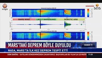 Mars'taki depremin sesi: NASA, Mars'ta ilk kez deprem tespit edildi