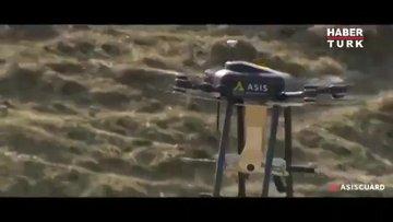 Türk savunma sanayi şirketi makineli tüfek taşıyan drone üretti
