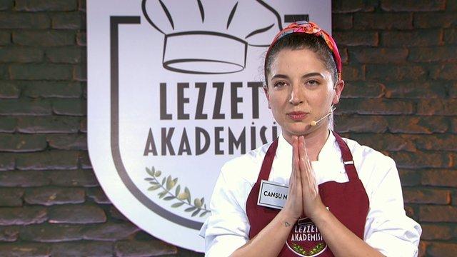 Lezzet Akademisi'nin şampiyonu Cansu Naz!