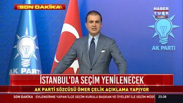Ömer Çelik'ten YSK kararı sonrası ilk açıklama