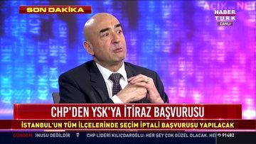 CHP'nin YSK Temsilcisi Mehmet Hadimi Yakupoğlu'ndan açıklamalar