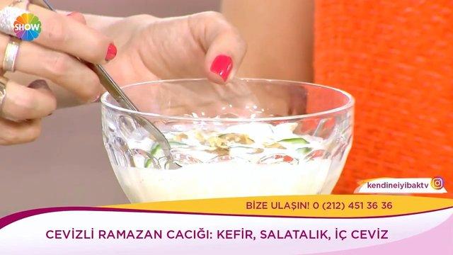 Cevizli Ramazan Cacığı