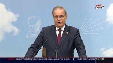 CHP Sözcüsü Faik Öztrak soruları yanıtladı!