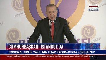 Son dakika... Cumhurbaşkanı Erdoğan Birlik Vakfı Genel Merkezi'nde konuştu
