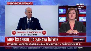 MHP İstanbul'da sahaya iniyor!