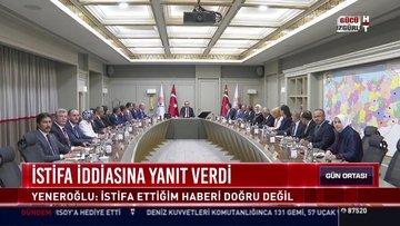 Mustafa Yeneroğlu istifa iddiasına yanıt verdi