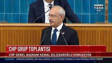 CHP grup toplantısı: CHP Genel Başkanı Kemal Kılıçdaroğlu konuştu
