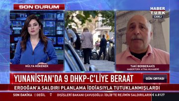 Yunanistan'da 9 DHKP-C'liye beraat!