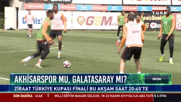 Akhisarspor mu?, Galatasary mı?: Ziraat Türkiye kupası finali bu akşam saat 20.45'te