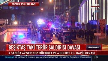Beşiktaş'ta 47 kişinin şehit olduğu saldırıda karar çıktı