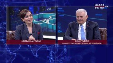 Binali Yıldırım'dan Habertürk TV'nin davetine yanıt