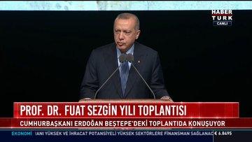 Prof. Dr. Fuat Sezgin Yılı Toplantısı: Cumhurbaşkanı Erdoğan Beştepe'deki toplantıda konuştu