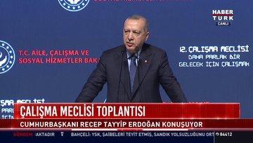 Çalışma Meclisi toplantısı: Cumhurbaşkanı Recep Tayyip Erdoğan konuştu