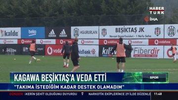 """Kagawa Beşiktaş'a veda etti: """"Takıma istediğim kadar destek olamadım"""""""