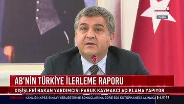AB Türkiye ilerleme raporu!
