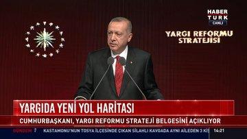 Yargıda yeni yol haritası: Cumhurbaşkanı, Yargı Reformu Strateji Belgesini açıkladı