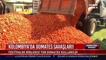 Kolomiya'da domates savaşları