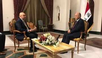 Irak Cumhurbaşkanı Berham Salih HABERTÜRK'e konuştu!
