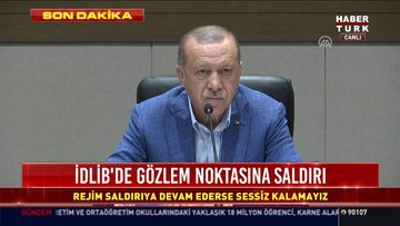 Cumhurbaşkanı Erdoğan'dan ortak yayın mesajı