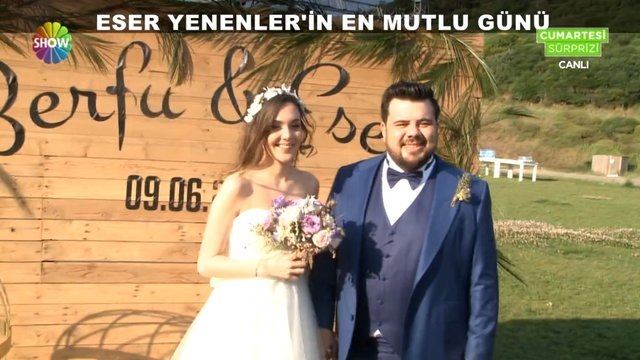 Eser Yenenler ile Berfu Yıldız evlendi!