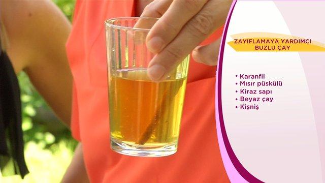 Zayıflamaya Yardımcı Buzlu Çay
