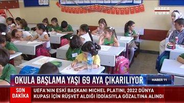 Okula başlama yaşı 69 aya çıkarılıyor
