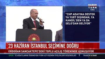 Cumhurbaşkanı Erdoğan: 45 dakika soruları konuştular