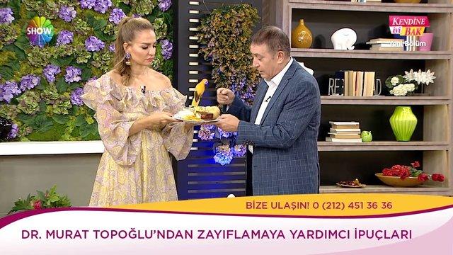 Dr. Murat Topoğlu'ndan zayıflamaya yardımcı ipuçları!