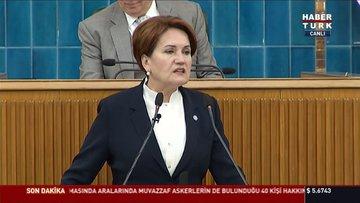 İyi Parti Genel Başkanı Meral Akşener parti grup toplantısında konuştu