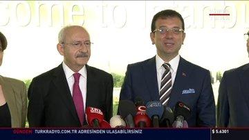 Son dakika: CHP lideri Kılıçdaroğlu'ndan Ekrem İmamoğlu'nu ziyaret etti