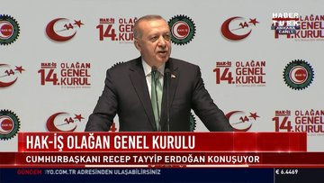 Cumhurbaşkanı Erdoğan'dan faiz politikası mesajı