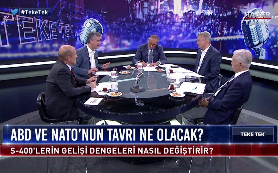 Teke Tek - 16 Temmuz 2019 (Türkiye'nin S-400 alması küresel ve bölgesel dengeleri nasıl etkiler?)