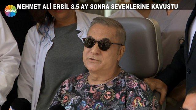 Mehmet Ali Erbil taburcu oldu!