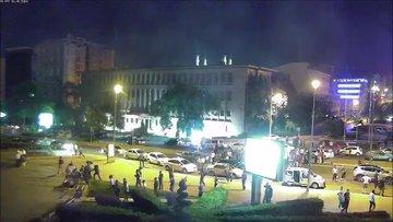 15 Temmuz'dan yeni görüntüler! Meclis kameraları bombalama anını kaydetti