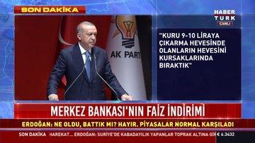 SON DAKİKA! Cumhurbaşkanı Erdoğan'dan faiz açıklaması