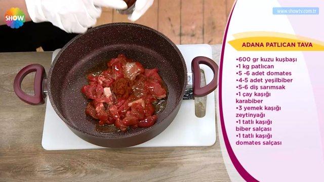 Adana patlıcan tava