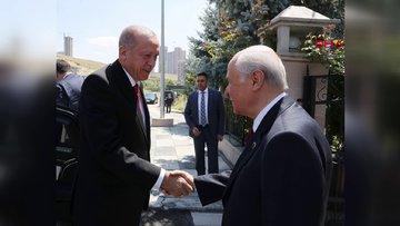 Cumhurbaşkanı Erdoğan'dan, Bahçeli'ye ziyaret