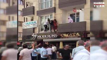 Esenyurt'ta 6 katlı binada yangın: Çok sayıda kişi apartmanda mahsur kaldı
