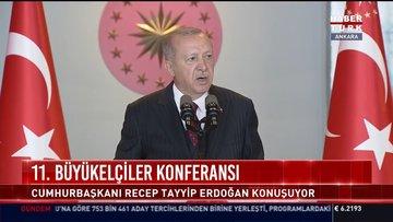 SON DAKİKA! Cumhurbaşkanı Erdoğan: ABD'den gerçek bir müttefike yarışır adım bekliyoruz!
