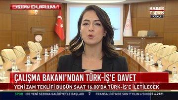 Çalışma Bakanı'ndan Türk-İş'e davet